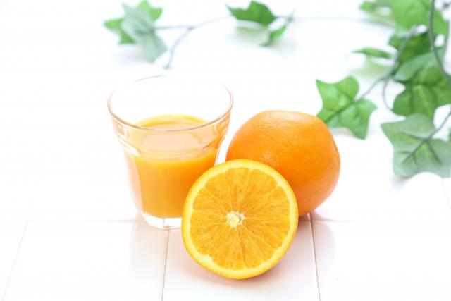 葉酸とオレンジジュース