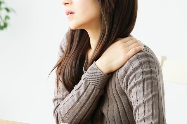 妊娠中の肩こり