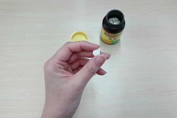 ネイチャーメイド粒の大きさ