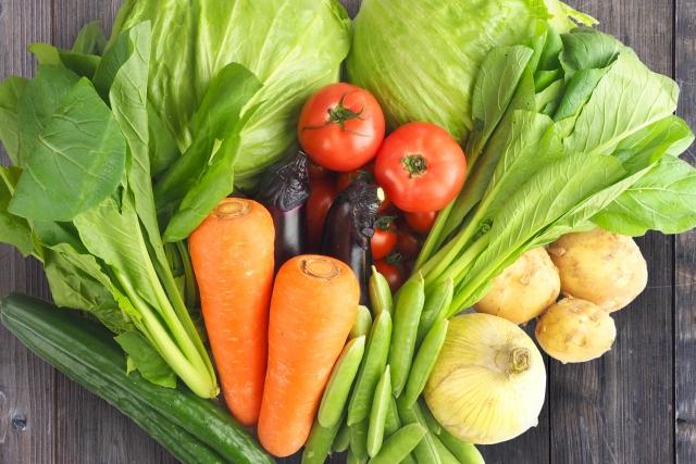 葉酸と野菜