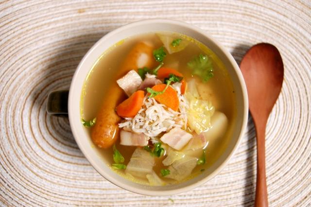 葉酸とスープ