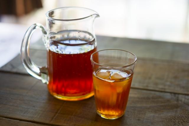 葉酸と麦茶