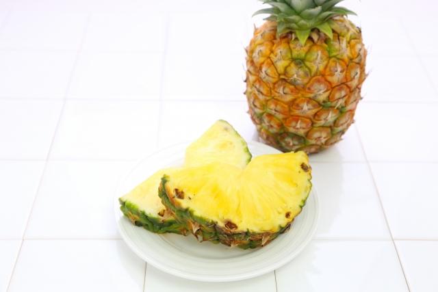 葉酸とパイナップル